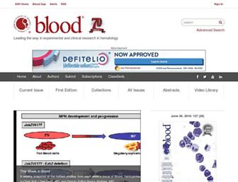 bloodjournal.org screenshot