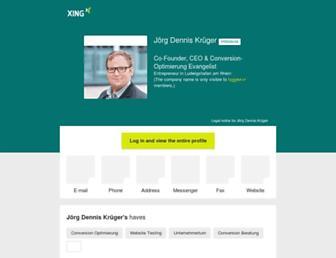 Main page screenshot of jdk.de