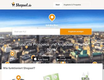 Thumbshot of Shopsel.de