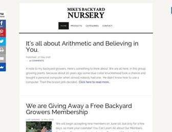 Thumbshot of Mikesbackyardnursery.com