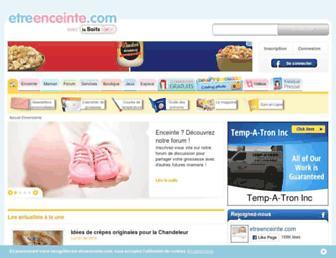 Thumbshot of Etreenceinte.com