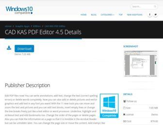 cad-kas-pdf-editor.windows10compatible.com screenshot
