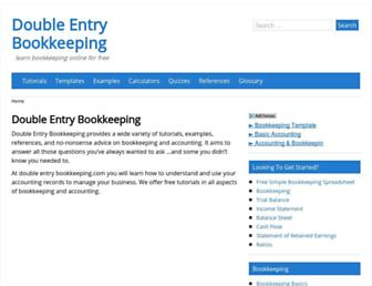 double-entry-bookkeeping.com screenshot