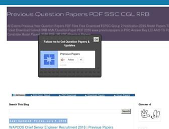 Thumbshot of Previouspapers.in