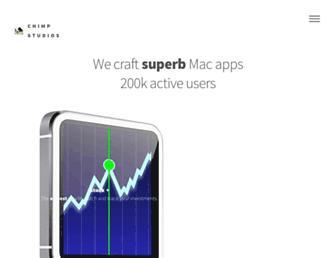 chimpstudios.com screenshot
