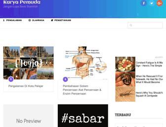 karyapemuda.com screenshot