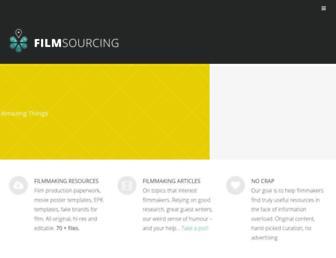 filmsourcing.com screenshot