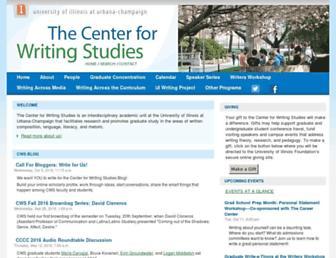 cws.illinois.edu screenshot