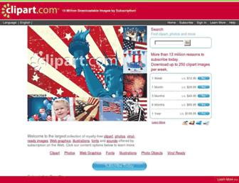 Thumbshot of Clipart.com