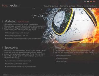 Main page screenshot of kos.media.pl
