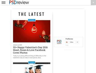 psdreview.com screenshot