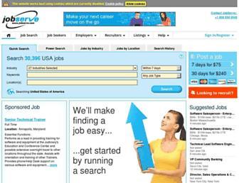 Thumbshot of Jobserve.com