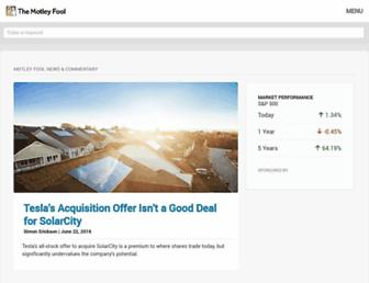 fool.com screenshot