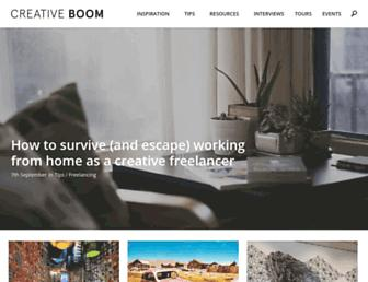 creativeboom.com screenshot
