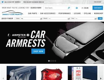 directcarparts.co.uk screenshot