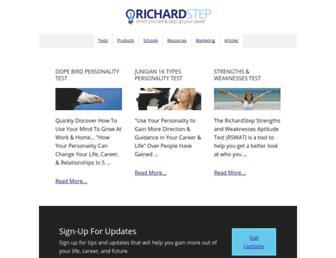 richardstep.com screenshot