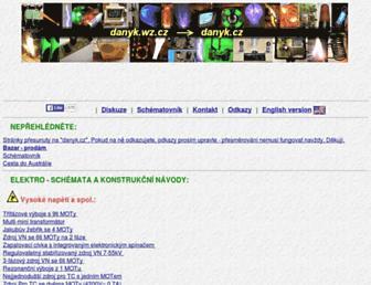 danyk.cz screenshot