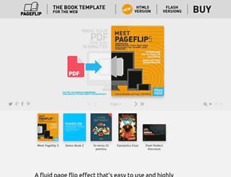 pageflip-books.com screenshot