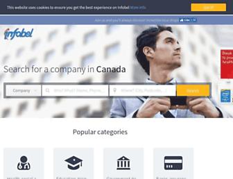 local.infobel.ca screenshot