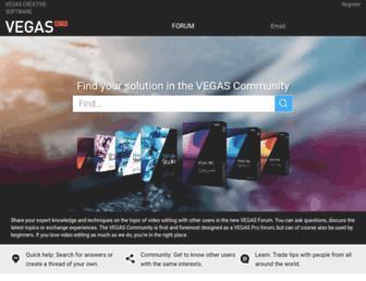 vegascreativesoftware.info screenshot