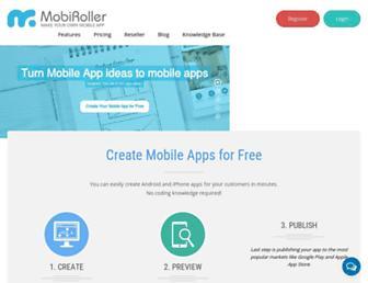 mobiroller.com screenshot
