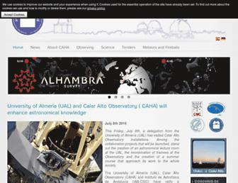 caha.es screenshot