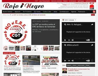 rojoynegro.info screenshot