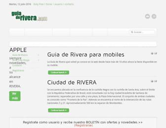 guiaderivera.com screenshot