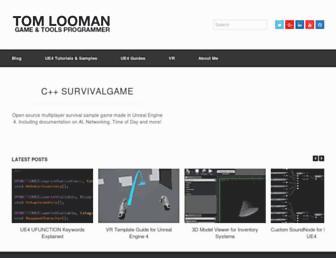 tomlooman.com screenshot