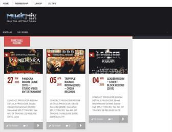 musicmix.co screenshot