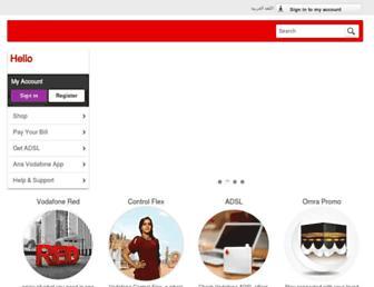 Thumbshot of Vodafone.com.eg