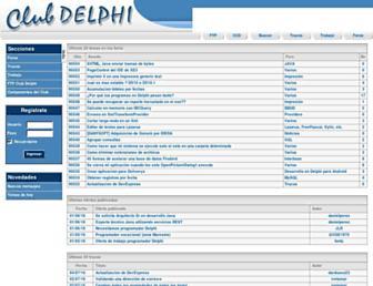 clubdelphi.com screenshot