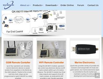 quark-elec.com screenshot