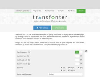 transfonter.org screenshot