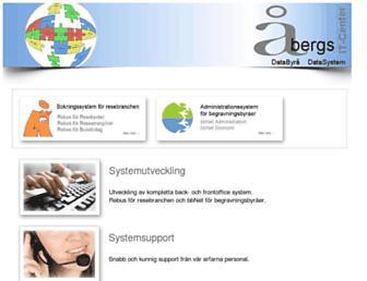 abergs.se screenshot