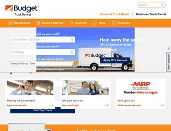 budgettruck.com screenshot
