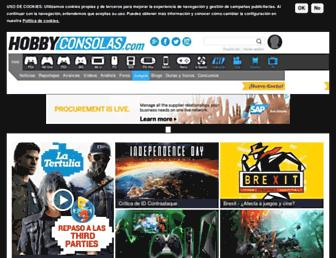 hobbyconsolas.com screenshot