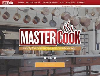 mastercook.com screenshot