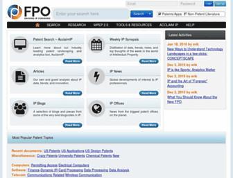 freepatentsonline.com screenshot