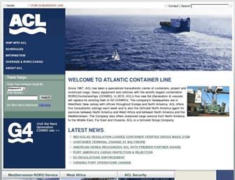 aclcargo.com screenshot