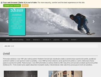 preuss.cz screenshot