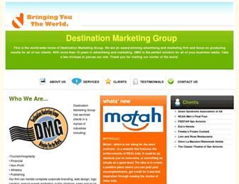 dmgagency.com screenshot