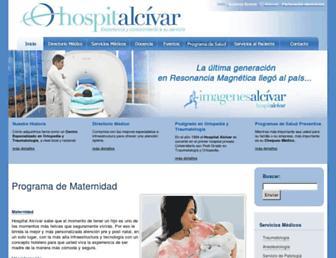 hospitalalcivar.com screenshot