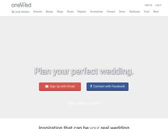 Thumbshot of Onewed.com