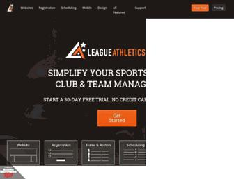 Thumbshot of Leagueathletics.com