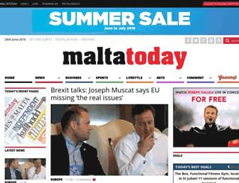 Thumbshot of Maltatoday.com.mt
