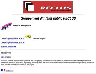 Main page screenshot of mgm.fr