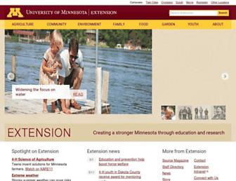 extension.umn.edu screenshot