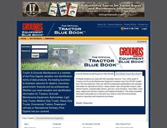 tractorbluebook.com screenshot