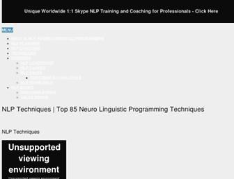 nlp-techniques.org screenshot
